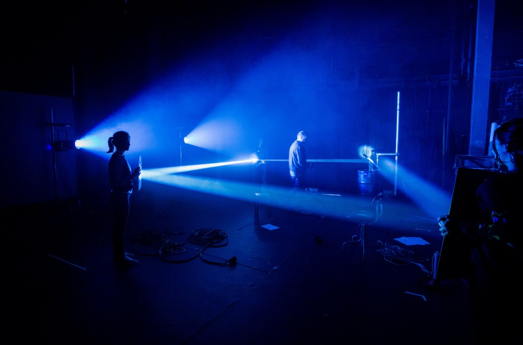 Dark Land Light House R&D. Photo: Paul Blakemore