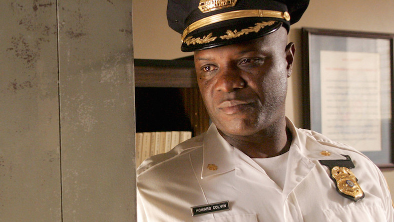 Howard Colvin played by Robert Wisdom in The Wire